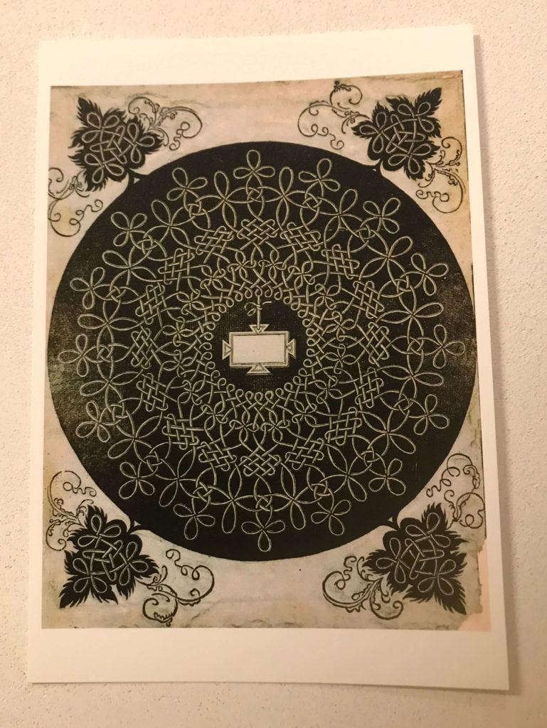 レオナルド・ダ・ヴィンチ美の理想展の絵はがき