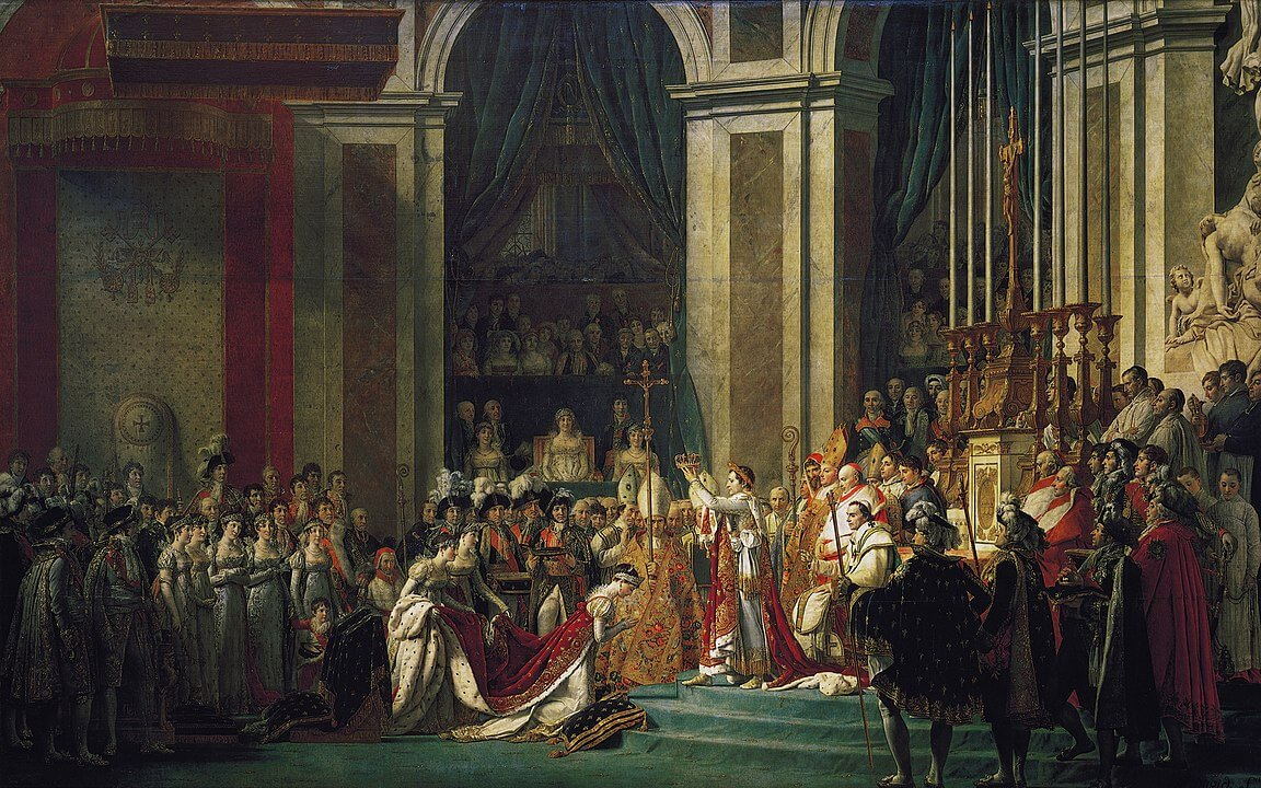 ジャック・ルイ・ダヴィッド『皇帝ナポレオン一世と皇妃ジョセフィーヌの戴冠』
