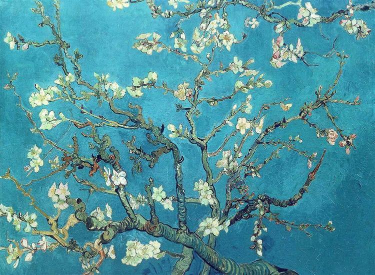 ゴッホ『花咲くアーモンドの枝』