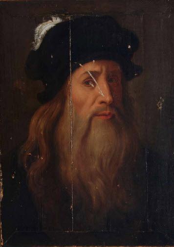 ダビンチ『ルカーニアの肖像画』