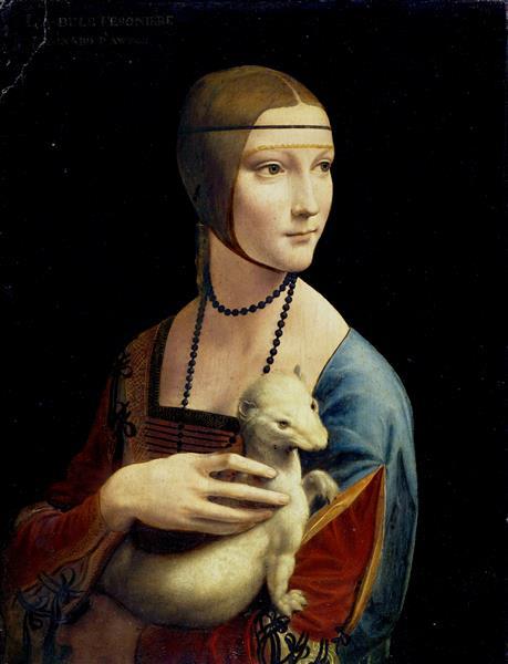 ダビンチ『白貂を抱く貴婦人』