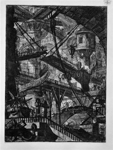 ピラネージ『幻想の牢獄』