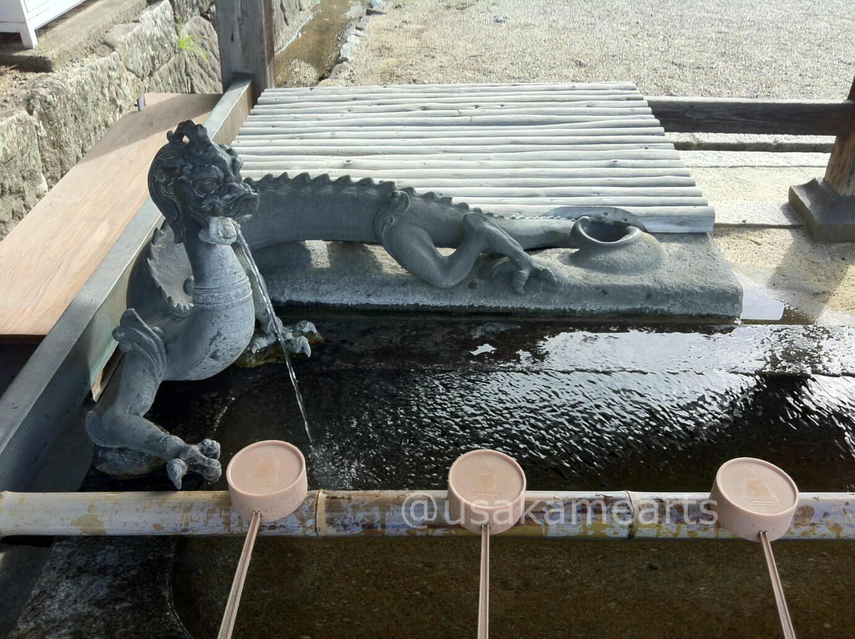 法隆寺の手水舎